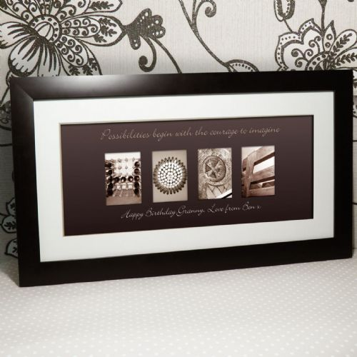 Personalised Affection Art Hope Large Frame